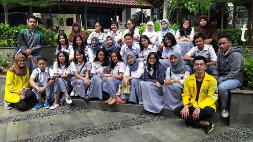 FPsi UI Menerima Kunjungan SMA Labschool