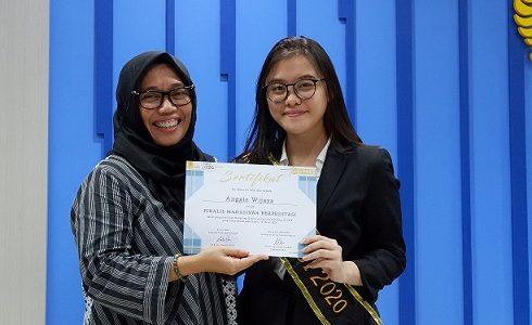 Anggie Wijaya Terpilih Menjadi Perwakilan MAPRES F.PSI UI 2020