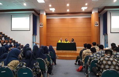F.Psi Terima Kunjungan SMA Insan Cendekia Madani, Serpong