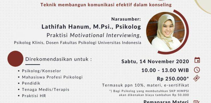 LAIPSI: Webinar Motivational Interviewing