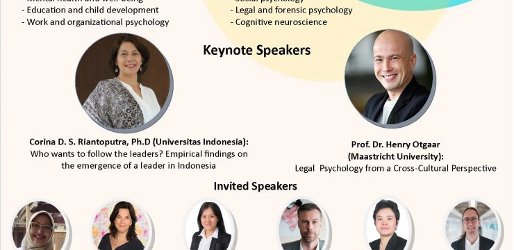 Virtual Conference 2020: Psychology from a Cross-Cultural Perspective Faculty of Psychology Universitas Indonesia &  Faculty of Psychology and Neuroscience Maastricht University